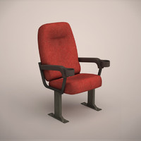 cine chair 3d model