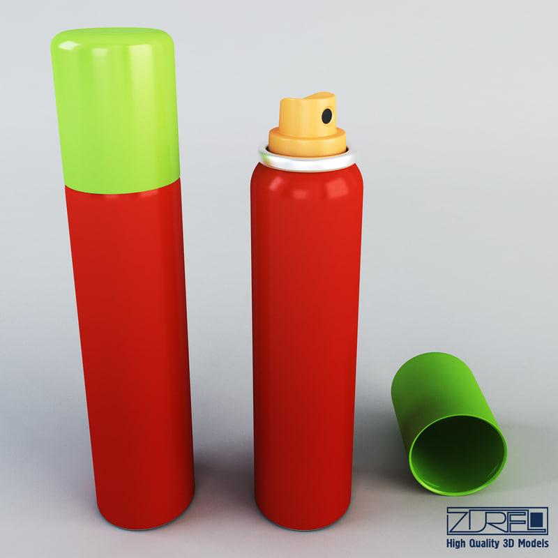 spray 100ml v 2 3d max