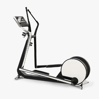 3d model cross gym technogym