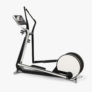 3d model cross gym technogym