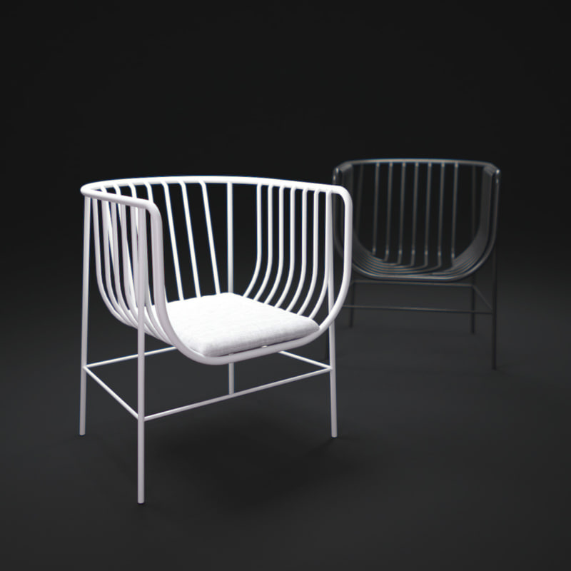 3d sekitei-chair model