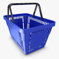 realistic shopping basket max