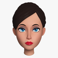 max cartoon female head