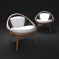 3ds max selig-round-chair