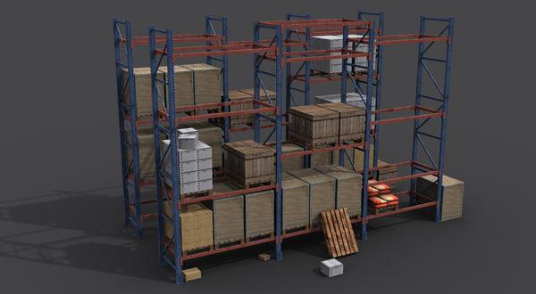 ready storage props 3d ma