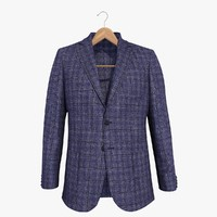 Blue Blazer 2 Jacket On A Hanger