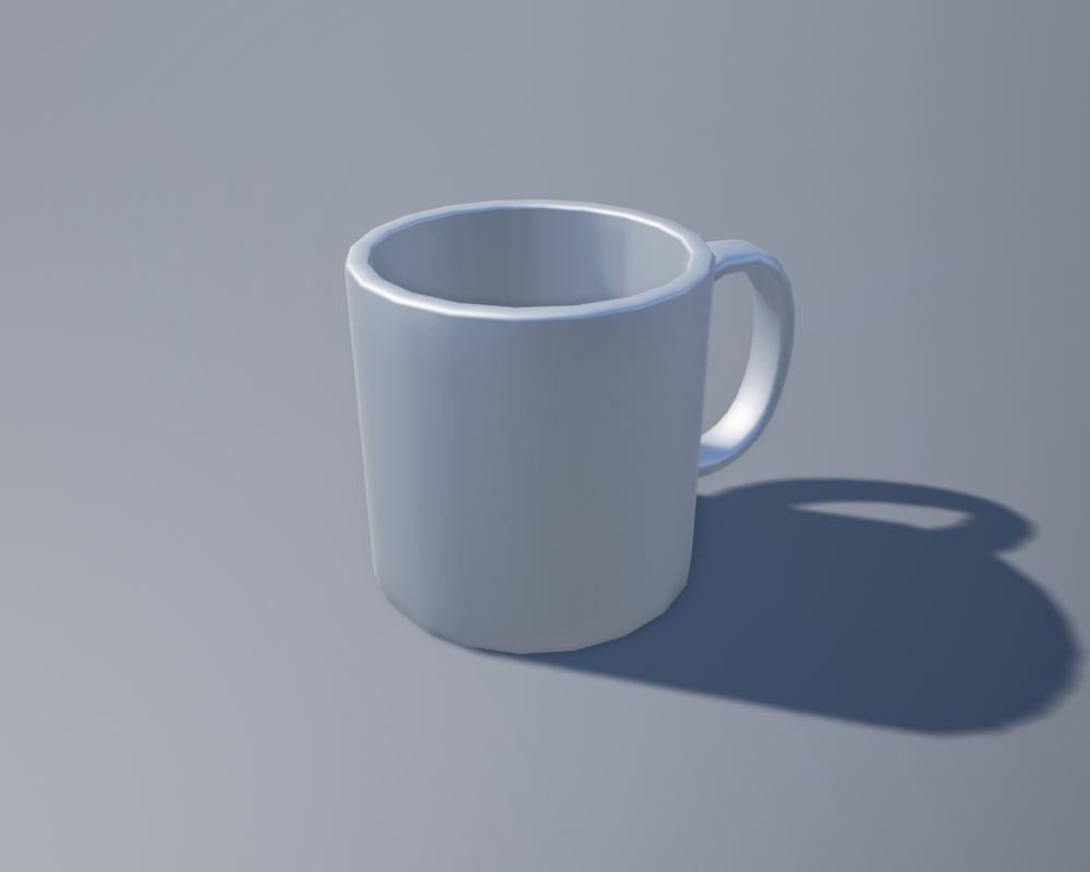 3d model ready coffee cup