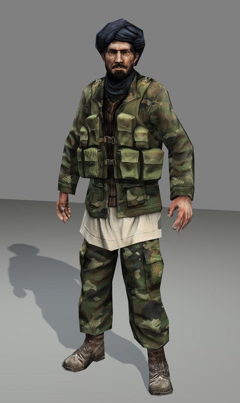 max afghan soldier