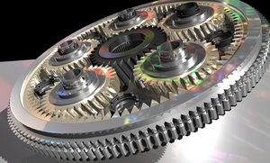 clock mechanism 3d ma