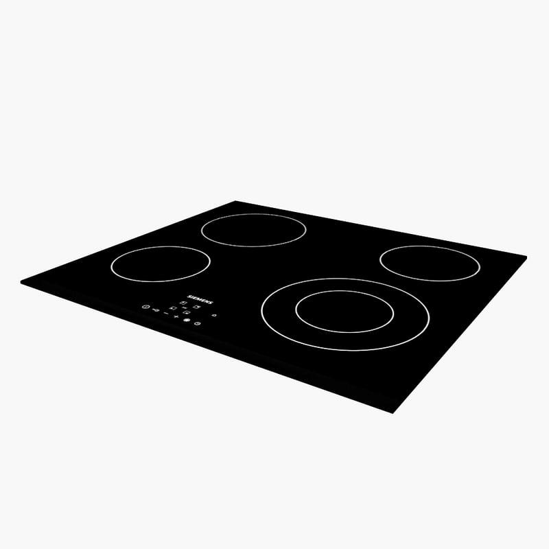 3d siemens cooker model