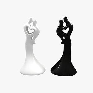 glass l figurine 3d 3ds