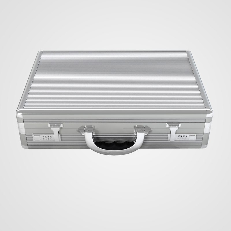 3d model aluminium case