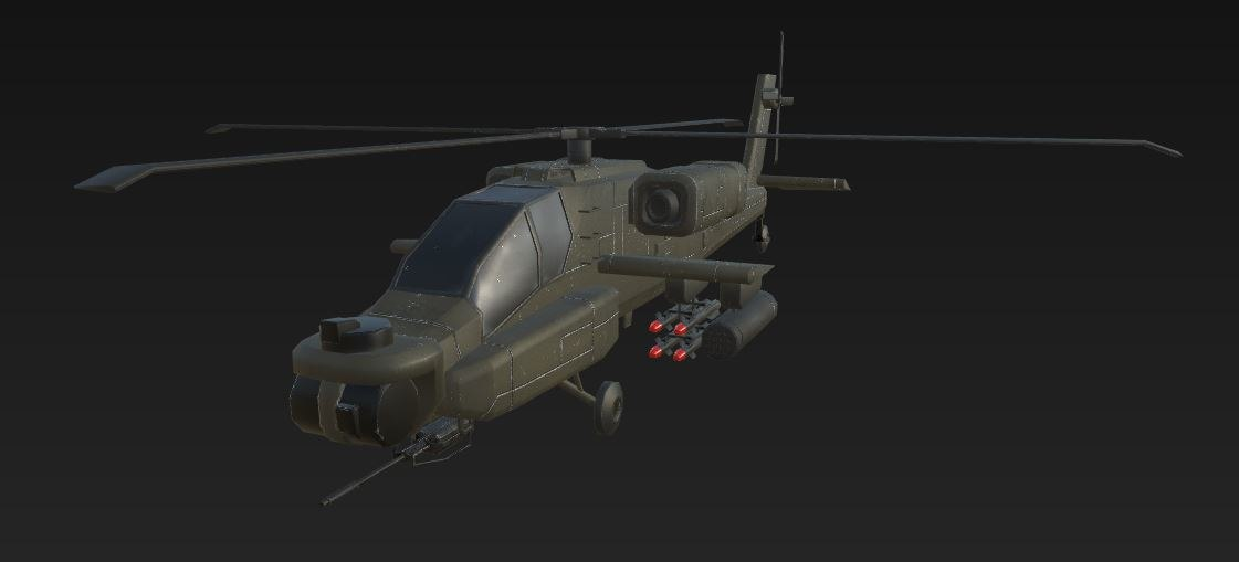 ready apache attack helicopter 3d 3ds