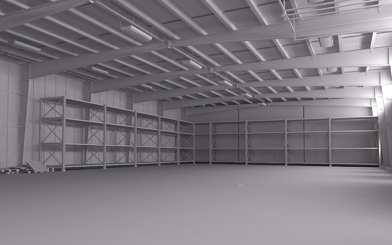 3d 3ds warehouse scene