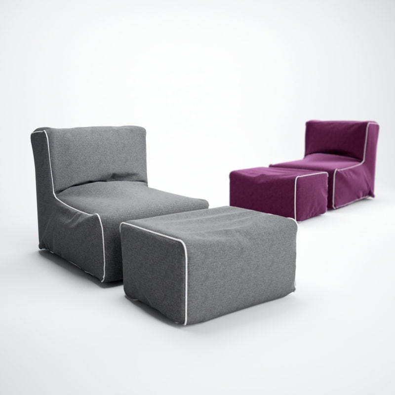3d model helgo-sofa