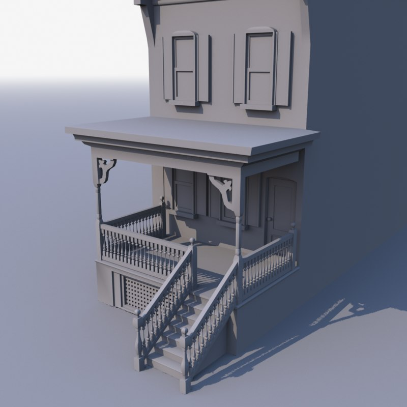 3d apartment houses