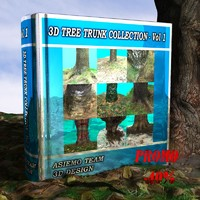 tree trunk - vol 1 3d 3ds