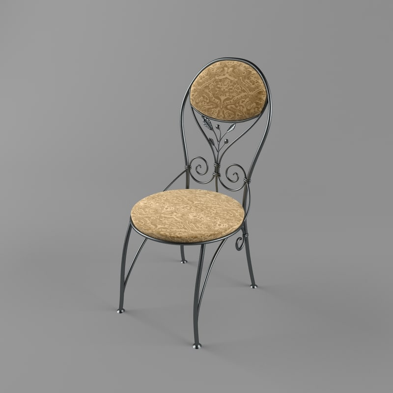 forged chair 3ds
