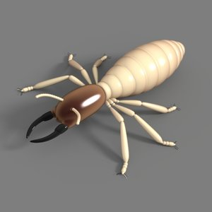 3ds max termites insects
