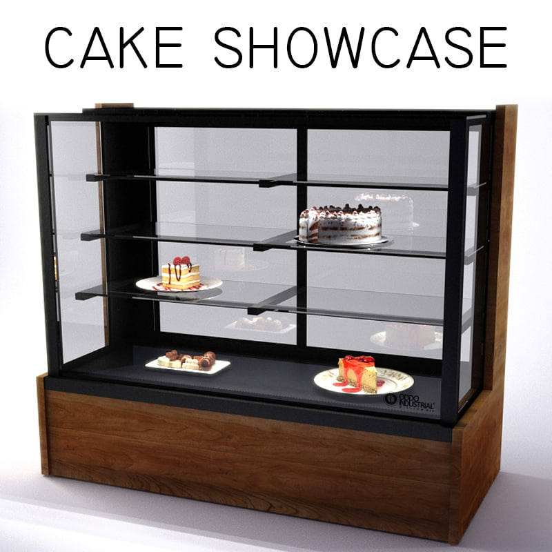 patisserie cabinet showcase
