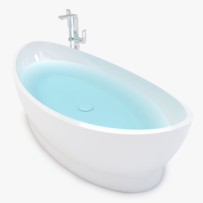 bathtub 3d max