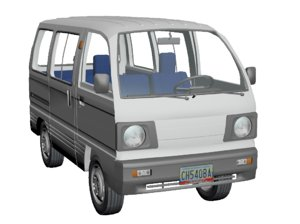 3d model of 1993 suzuki