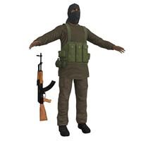 taliban soldier ak47 max