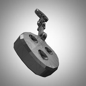 3d model chain shot cannons