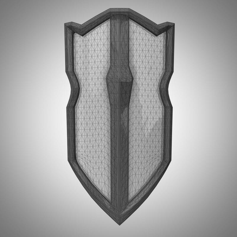 maya fantasy shield