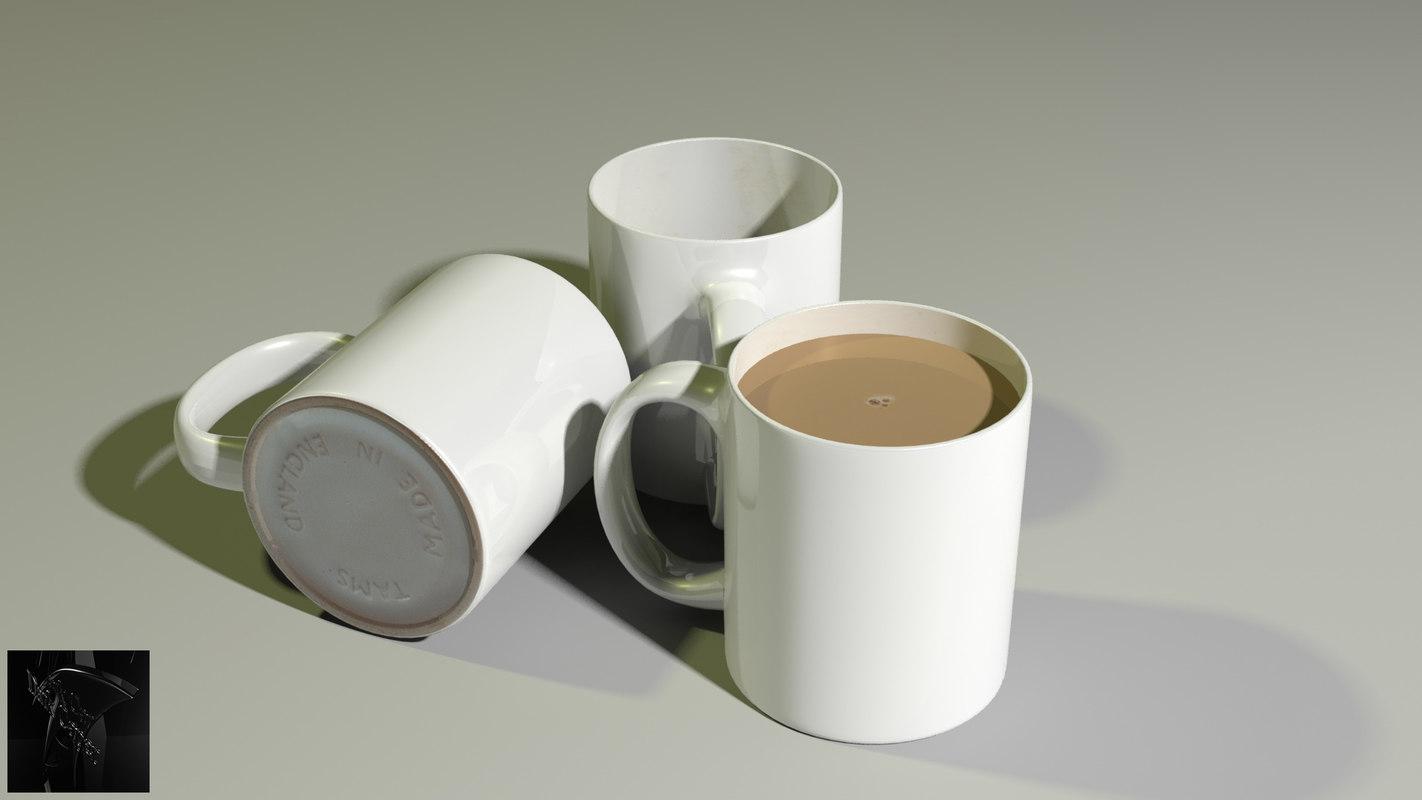 obj mug fluid