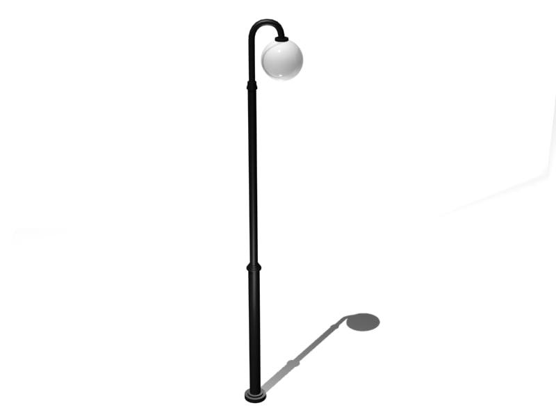 maya priamo street lamp