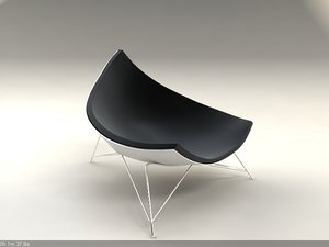 3ds max coconut chair