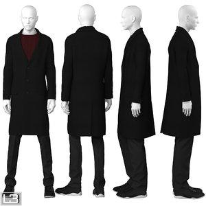 3ds max man mannequin
