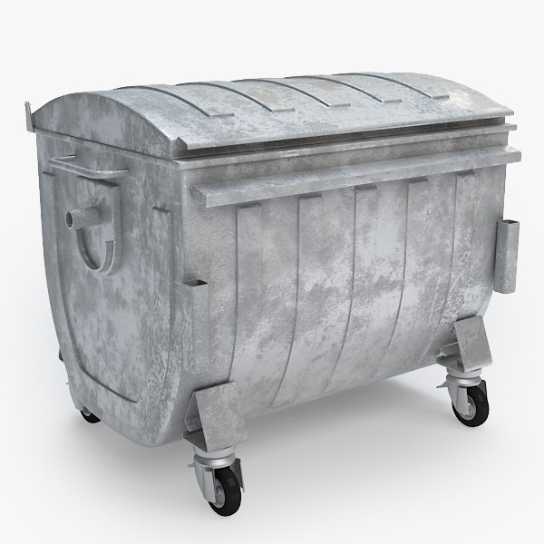 container trash 3d model