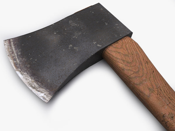 ax steel 3d model