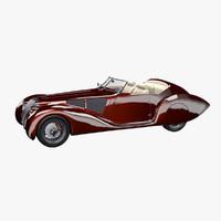 concept car 3d lwo