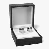 3d model earrings box