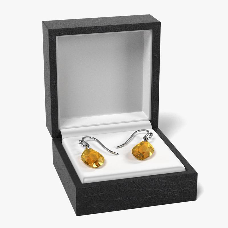 earrings box 3d model