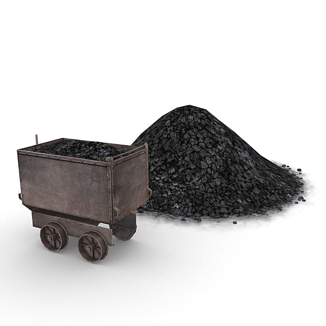 3d model coal resource pack