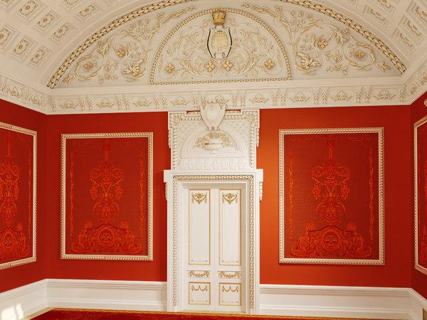 3d model beethoven hall bolshoi theatre