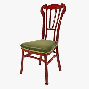 3d horta chair design