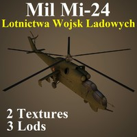 3d mil lwl helicopter
