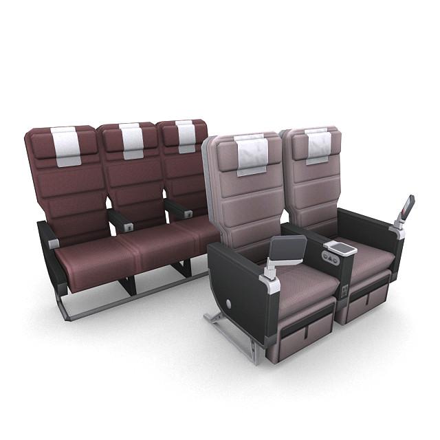 obj aircraft seating