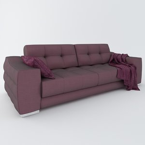 realistic sofa tecni nova 3d max