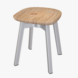 emeco su small stool 3d obj