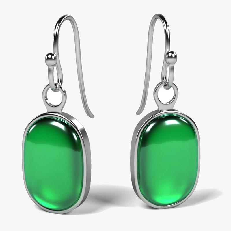 earrings 3d model