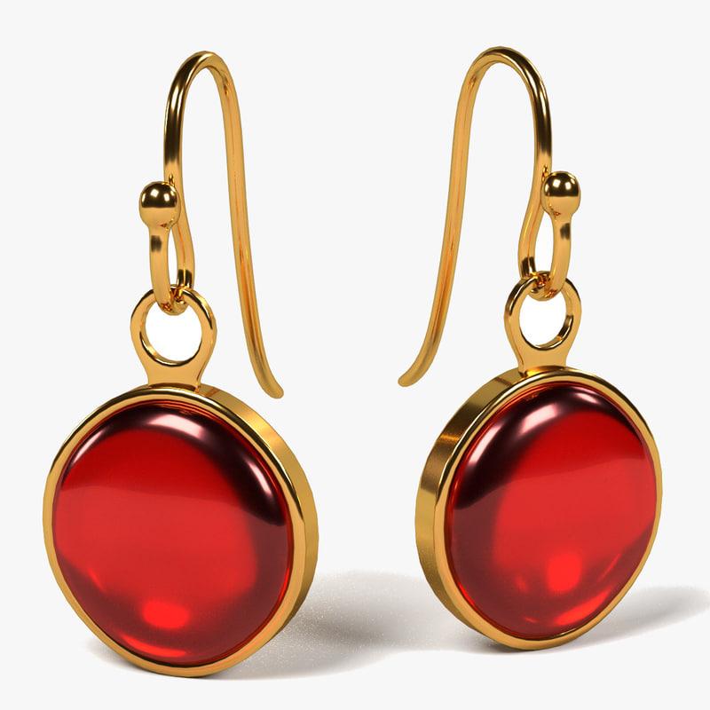 earrings 3ds