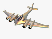max silver futuristic plane games