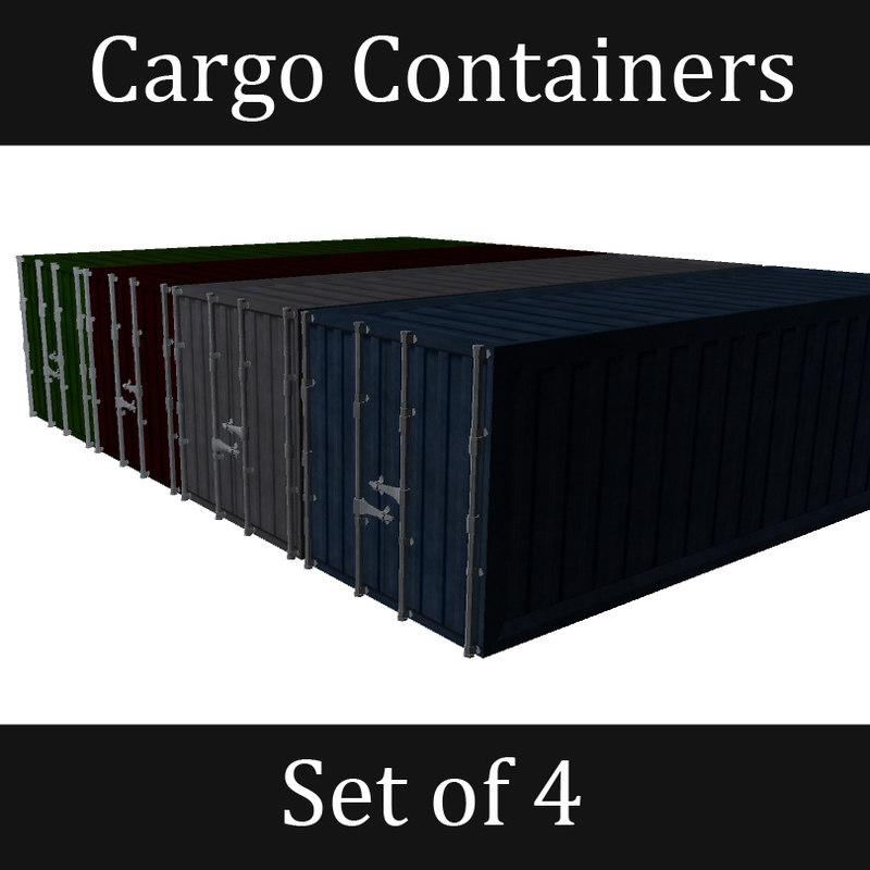 set contains cargo fbx