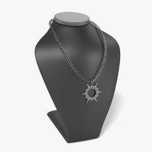 3d necklace dummy